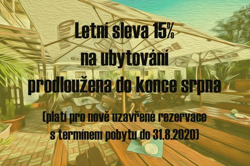 Hotel Kotyza letní sleva 15% 2020